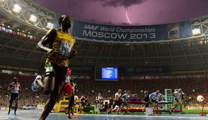 See the photograph that could define Usain Bolt's career