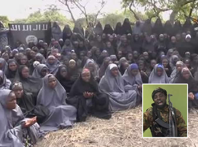 Chibok girls all married off, Boko Haram leader says