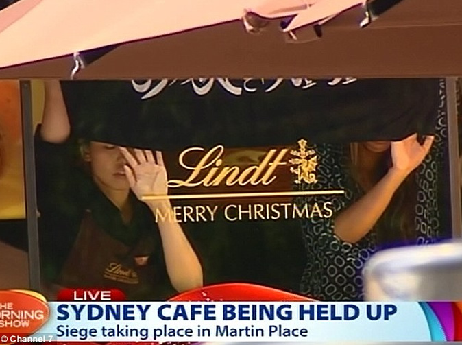 Hostages in Australian cafe allegedly held by Islamic States Militant