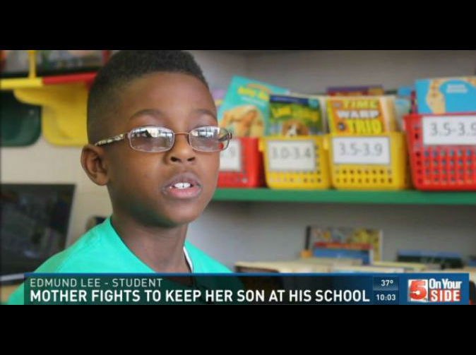Pupil unable to return to his school because he's black