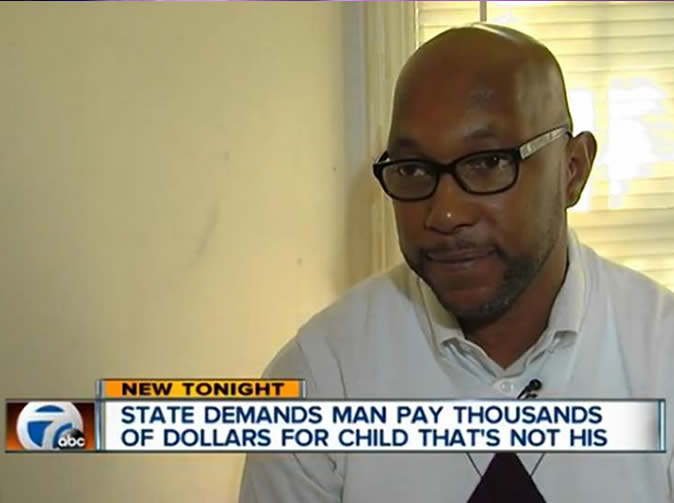 Man ordered to pay $30,000 for child support for a child he never fathered