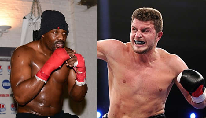 Boxer Edmund Gerber offers to cure 'anti-social' Dereck Chisora with his fists