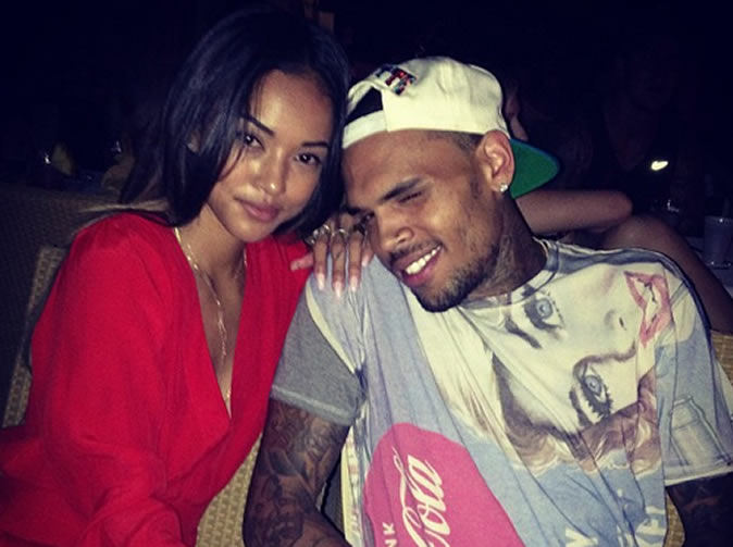 Chris Brown accuses Karrauche Tran of cheating with Drake