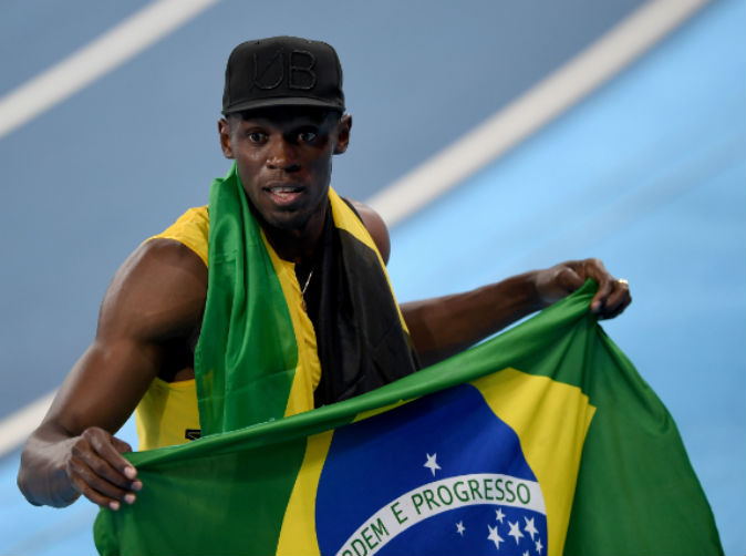 'I'm the greatest' says Usain Bolt after winning completing 'triple-triple'