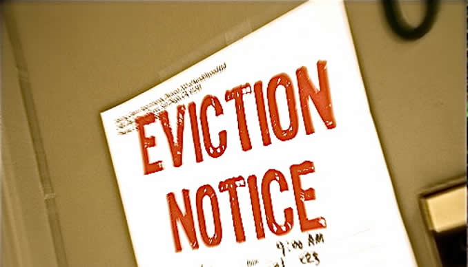 Woman evicts mother from home