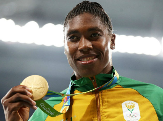 Caster Semenya wins gold