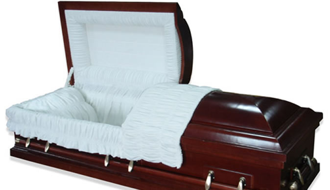 'Dead' man wakes up to drink water at his own funeral