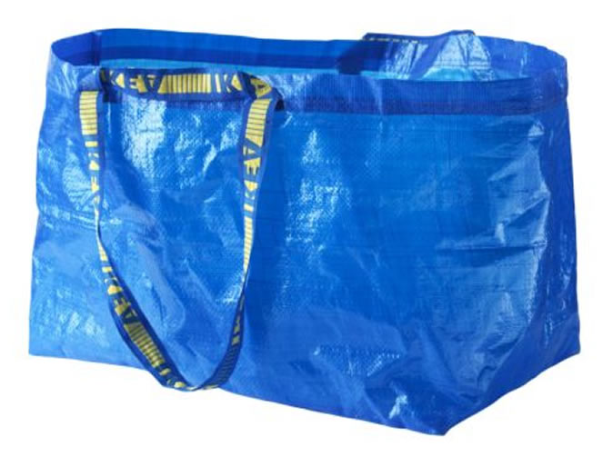 Woman finds 'remains of 80 people' in Ikea bags