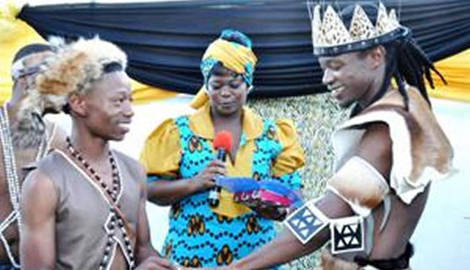 Couple celebrate first known traditional gay wedding in Africa