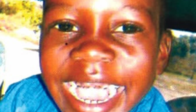 Family yet to collect 3-year-old son's remains