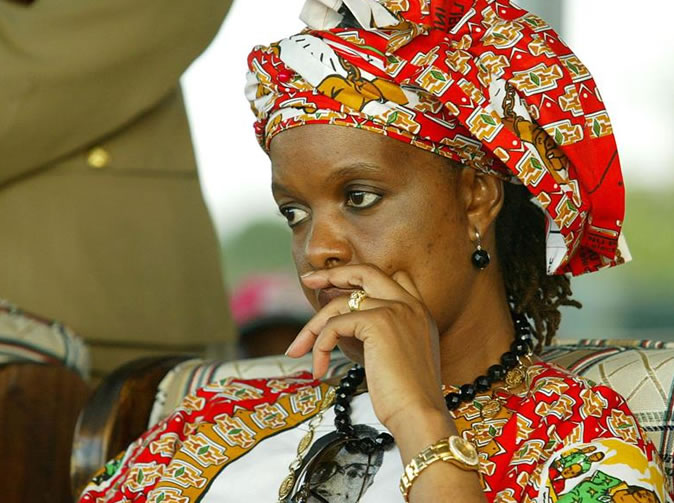 'Leadership is not sexually transmitted' Grace Mugabe told