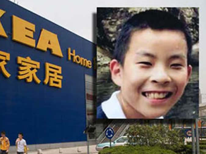 Boy missing for six days found in IKEA