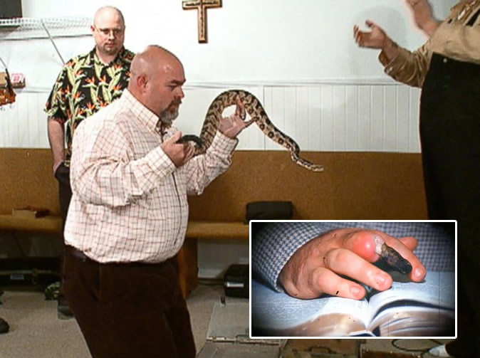 'Snake Salvation' pastor dies of snake bite