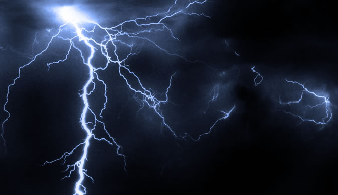 Mobile phone charged using lightning