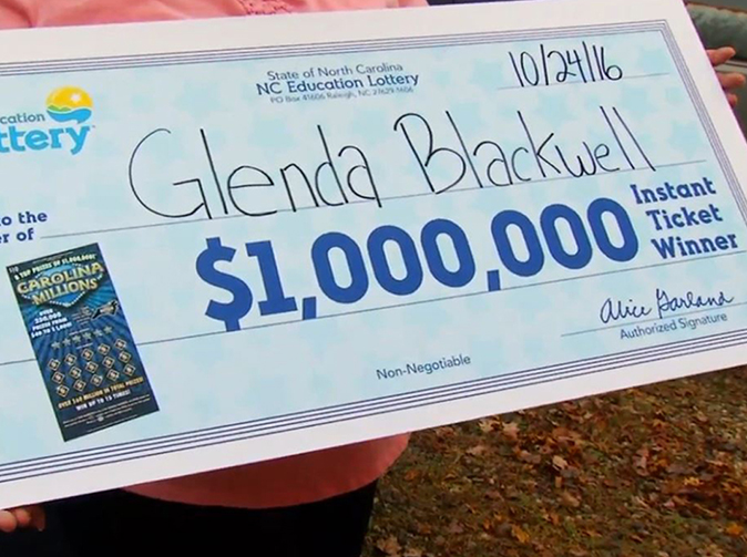 Woman buys scratchcard to show husband they're a waste of money, ends up winning $1mn