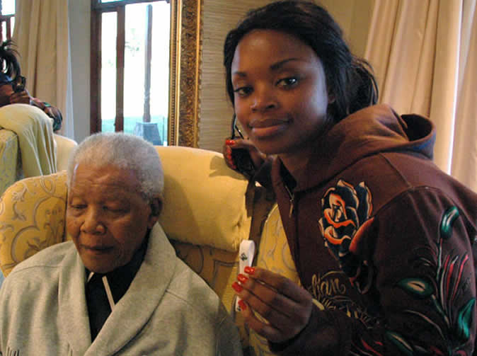 Mandela's granddaughter tells of drugs and sex addiction