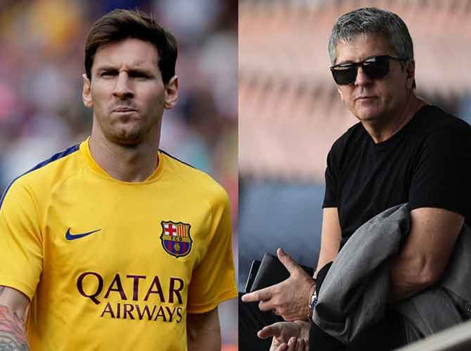 Footballer Lionel Messi and father jailed