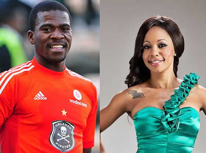 Footballer comments on Kelly Khumalo 'pregnancy'