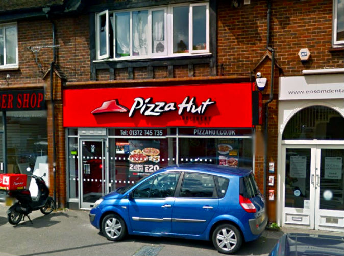 Teenage girl 'stabbed and raped after being dragged out of Pizza Hut'
