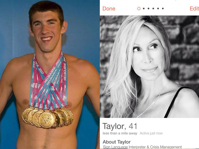 Swimming champion Michael Phelps' 'girlfriend' claims she was born a boy