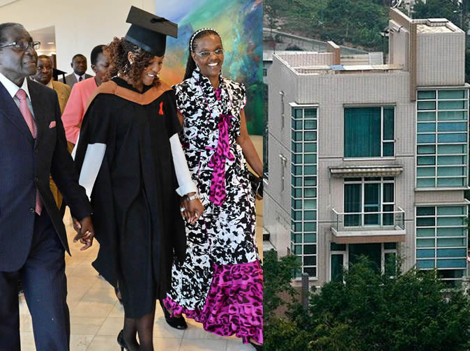 President and Grace Mugabe face day in court over Hong Kong property