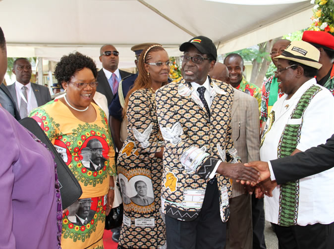 'Joice Mujuru took off all her clothes and stomped around her house in rage' claims Grace Mugabe