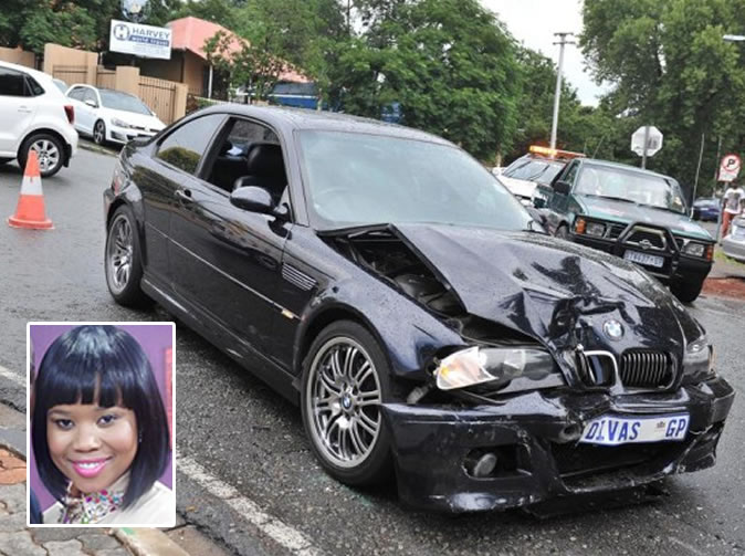 Singer and Muvhango actress Chomee injured in accident