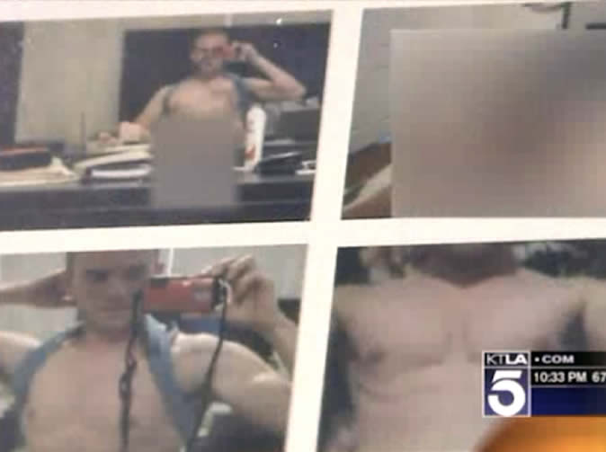 Teacher has his indecent pictures sent to students by an angry ex-boyfriend