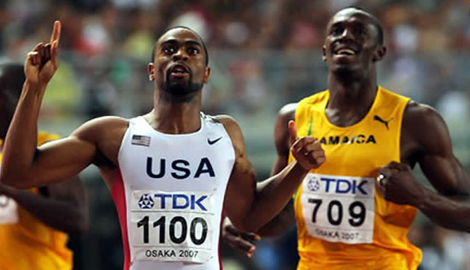 Sprinter Tyson Gay tests positive for banned substance
