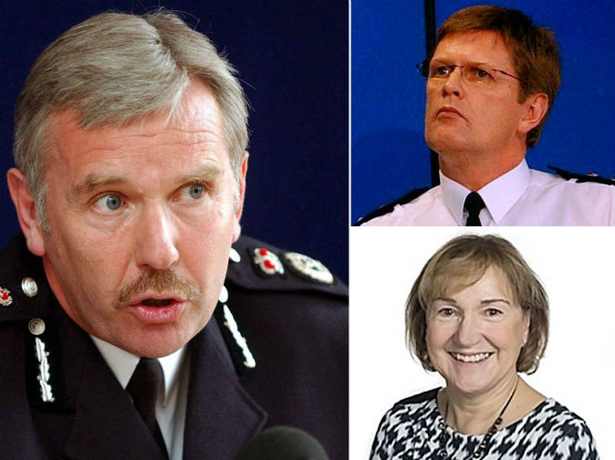 Police boss punched at BBQ 'over affair with assistant chief constable'
