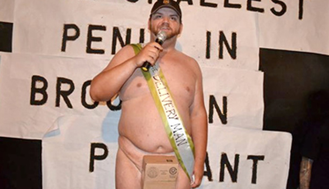 Man 'proud' to win Brooklyn's Smallest Penis competition