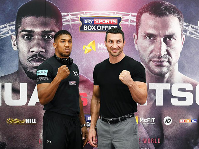 Anthony Joshua victorious against Wladimir Klitschko