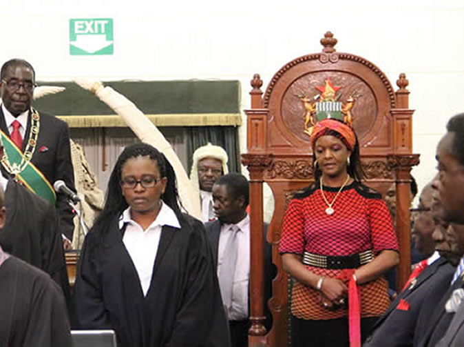 I am already President says Grace Mugabe