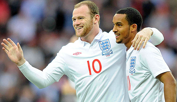 Rooney's head injury 'is not going to help his looks,' says Theo Walcott