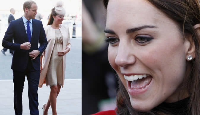 Kate Middleton goes into labour