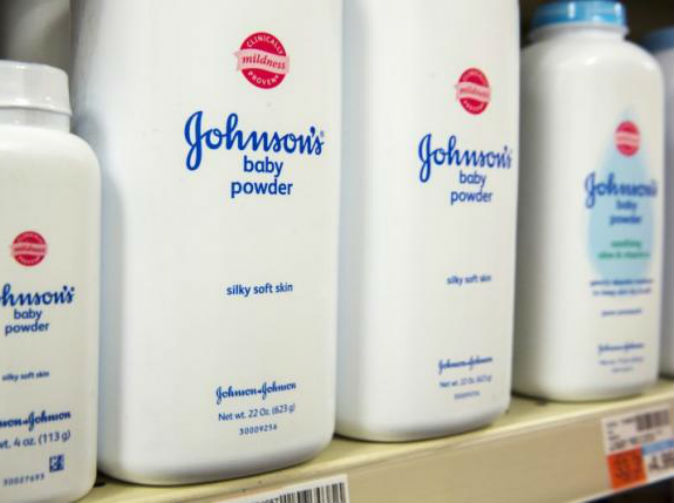 J&J fined £72m after woman's cancer death linked to talcum powder