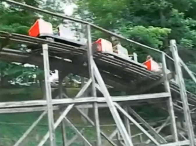 Three-year-old boy falls from roller coaster at theme park