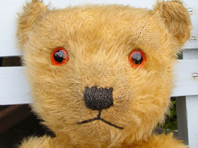 Woman arrested after stabbing teddy bear
