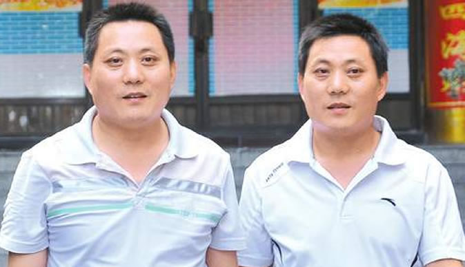 Twin brothers reunited after 41 years apart