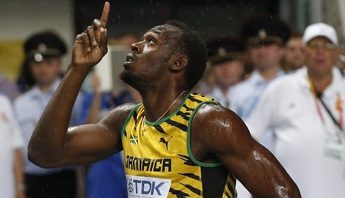 Usain Bolt delivers in Moscow