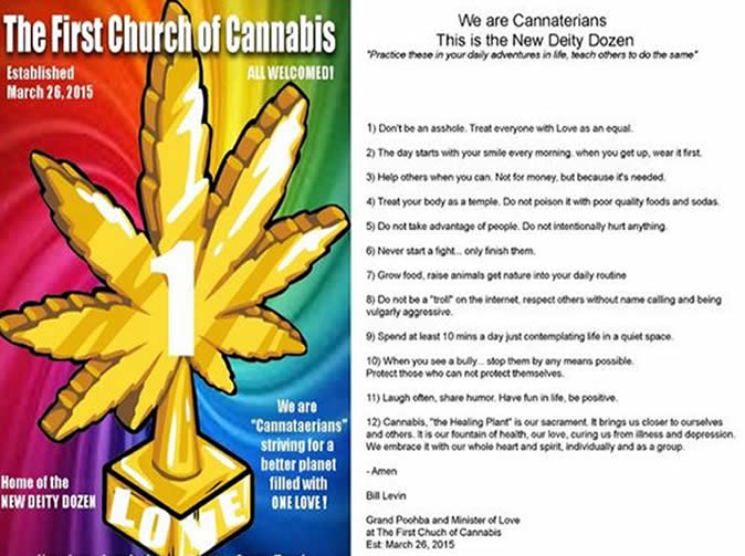 'Church of Cannabis' set up in the US
